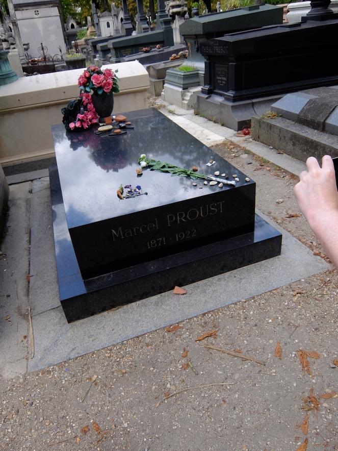Marcel Proust's tomb