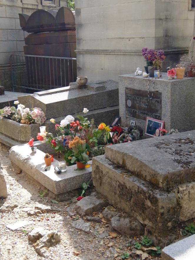 Jim Morrison's tomb