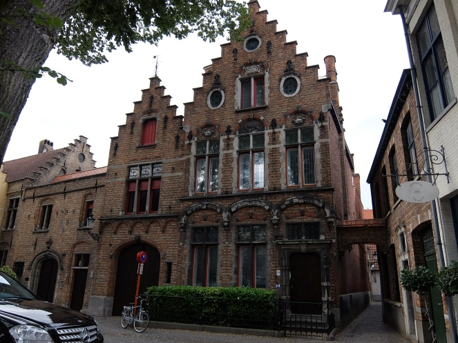 Brick buildings in Bruge