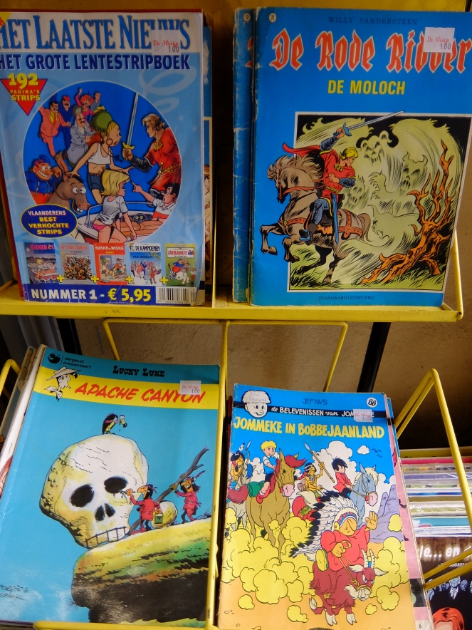 Belgian comic books