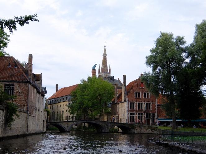 View of Half Moon Brewery Bruges