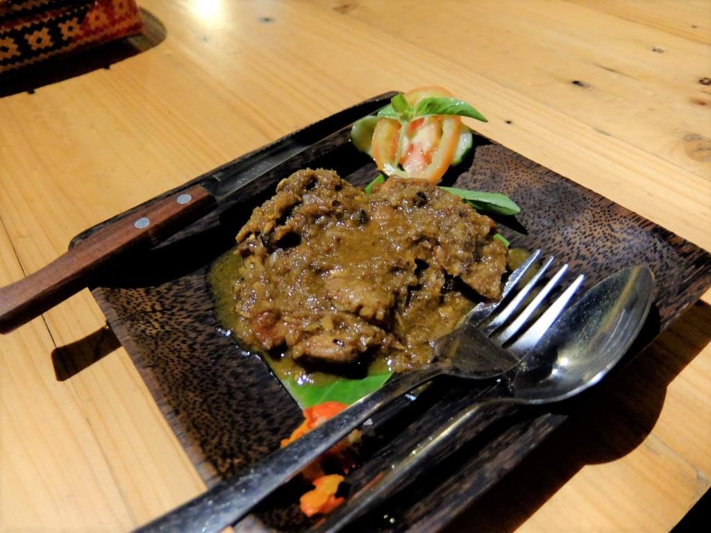 Ayam betutu a Balinese chicken dish