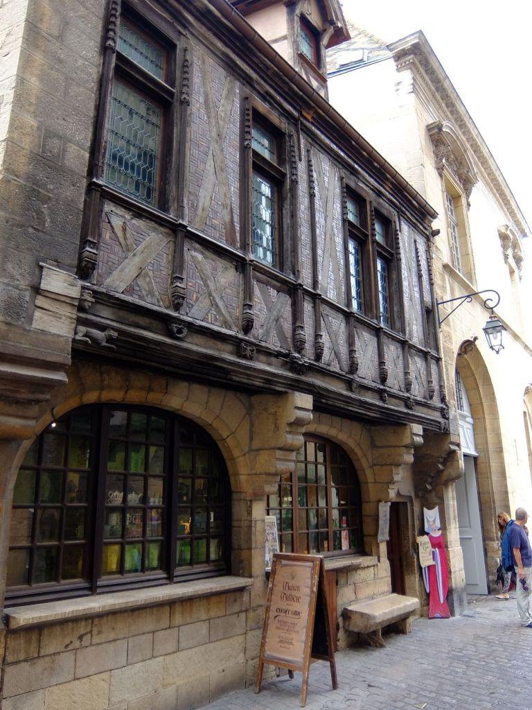 facade of a shop in Dijon