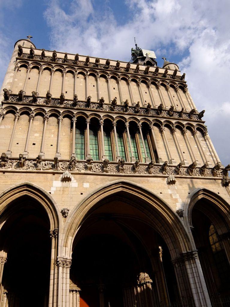 facade of Dijon Cathedral