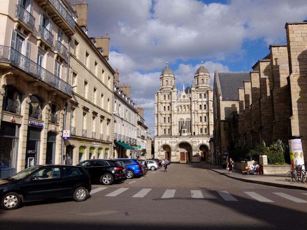 street in Dijon