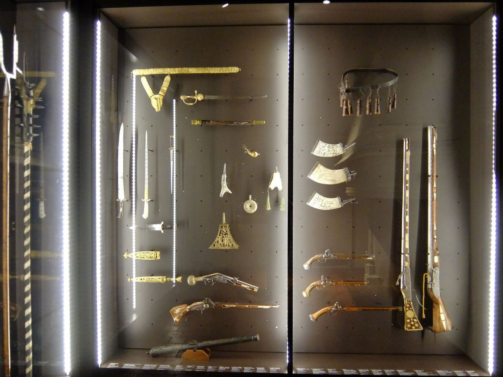 ancient weapons in Dijon museum