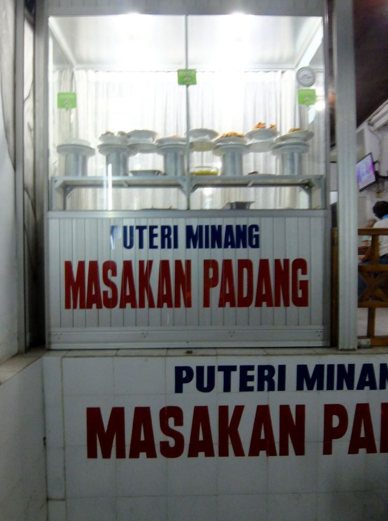 Balinese eatery in Ubud Masakan Padang